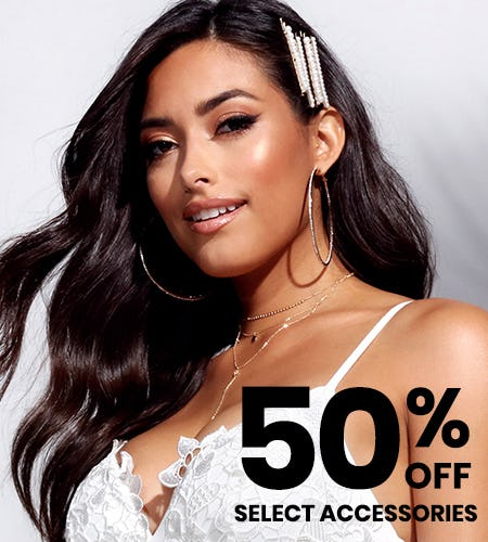 50% OFF SELECT ACCESSORIES! from Windsor