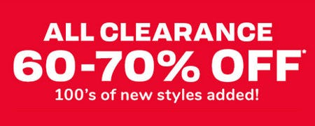 All Clearance 60-70% Off from The Children's Place Gymboree