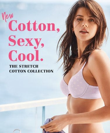 New Cotton, Sexy, Cool from Victoria's Secret
