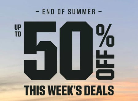 Up to 50% Off End of Summer Sale from Dick's Sporting Goods