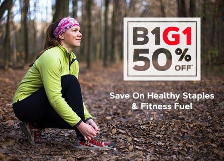 B1G1 50% Off from GNC
