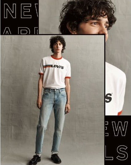 New Arrivals to Love from The Levi's Store