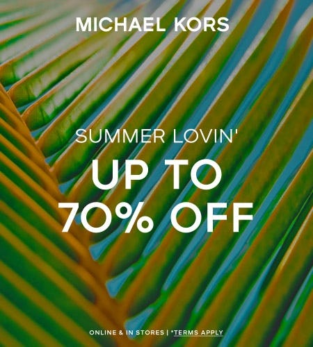 ENJOY UP TO 70% OFF*