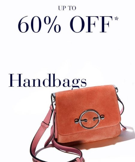 Up to 60% Off Handbags from Saks Fifth Avenue