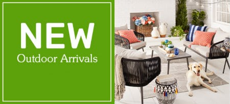 New Outdoor Arrivals from Pier 1 Imports