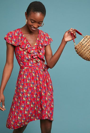 Rosalia Wrap Dress from Anthropologie