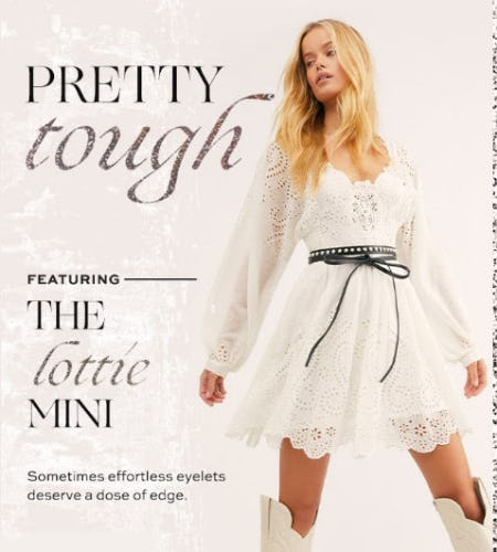 Featuring: The Lottie Mini from Free People