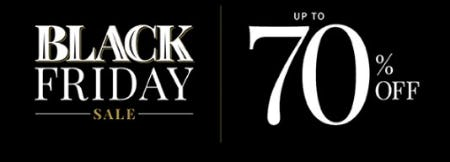Black Friday Sale up to 70% Off from Jos. A. Bank