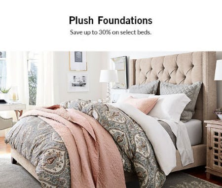 Up to 30% Off Select Beds