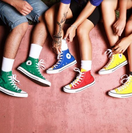 Converse Chuck Taylor All Star Hi Tops Sneakers from Journeys