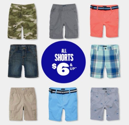 All Shorts $6 & Up