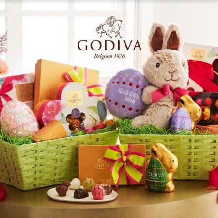 GODIVA Easter Gifts from Godiva Chocolatier