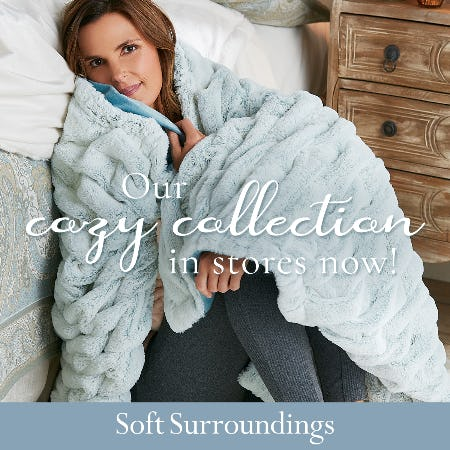 Soft Surroundings Cozy Collection Now In Stores! from Soft Surroundings