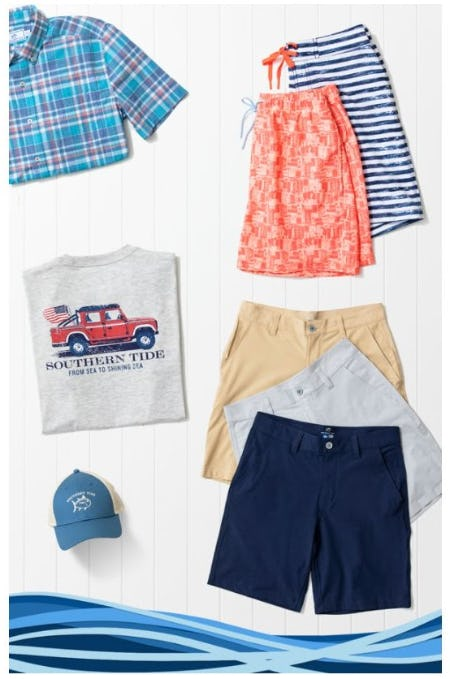 Southern Tide for Those Long Summer Weekends