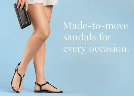 New Sandals from Cole Haan