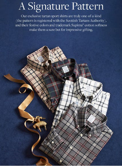 A Signature Pattern from Brooks Brothers