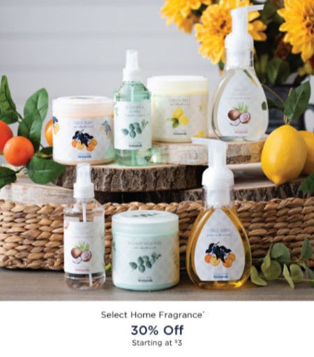 30% Off Select Home Fragrance from Kirkland's