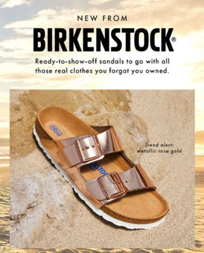 New From Birkenstock from DSW Shoes