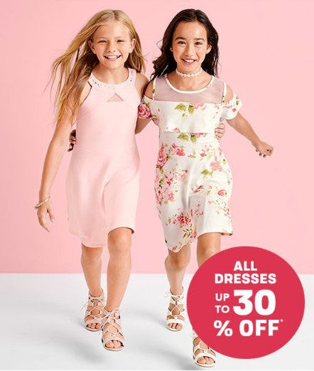 All Dresses up to 30% Off