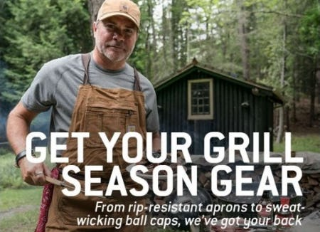 Grill-Season Gear from Carhartt