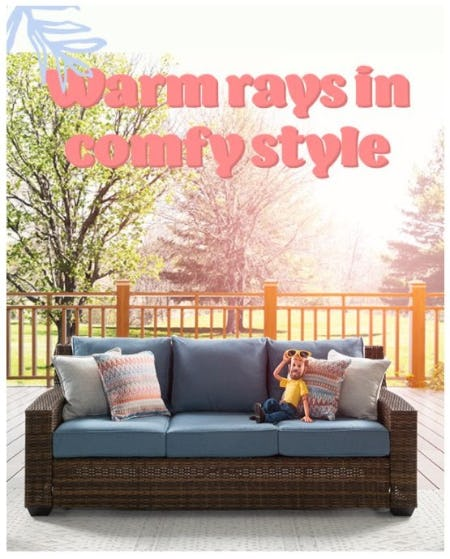 New Stylish Outdoor Furniture from Bob's Discount Furniture