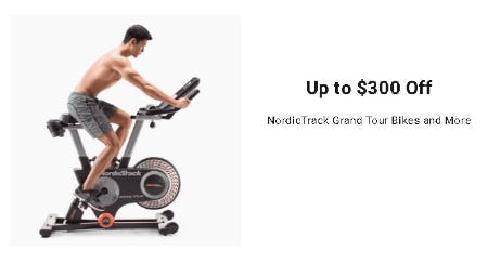 Up to $300 Off Nordic Track Grand Tour Bikes and More from Dick's Sporting Goods