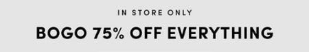 BOGO 75% Off Everything from Torrid