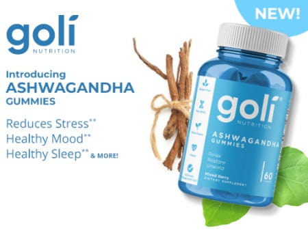 Introducing Ashwagandha Gummies from Vitamin World