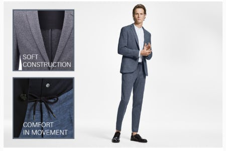 Comfortable Office Wear from BOSS Hugo Boss