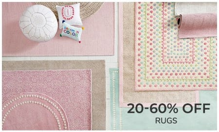 20–60% Off Rugs from Pottery Barn Kids