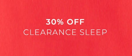 30% Off Clearance Sleep from Lane Bryant