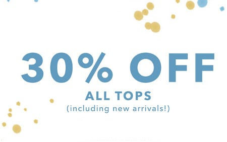 30% Off All Tops from OFFL/NE by Aerie