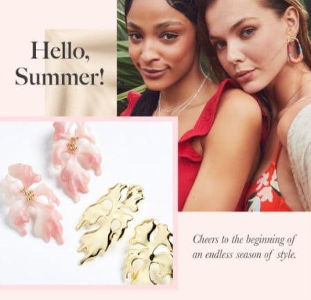 New Arrivals for Summer from Kendra Scott