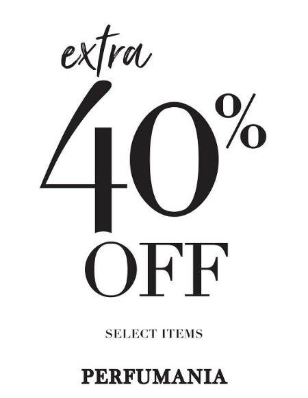 40% Off Storewide from Perfumania