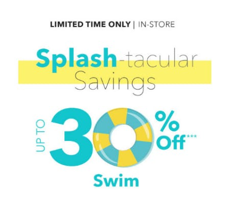 1dfc8ca0ff55 Up to 30% Off Splash-Tacular Savings from Disney Store