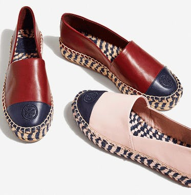 New Sandals And Espadrilles from Tory Burch