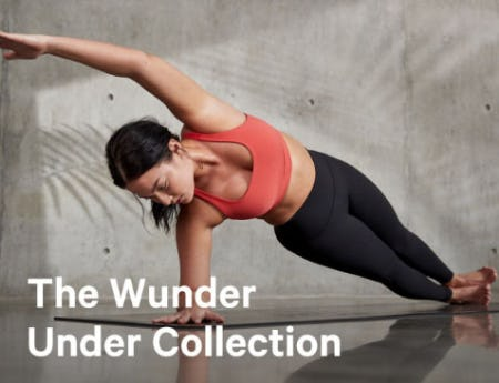 The Wunder Under Collection from lululemon