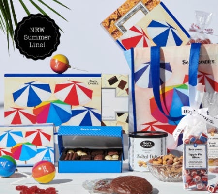 New Summer Line from See's Candies