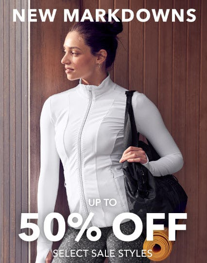 Up to 50% Off New Markdowns from Athleta
