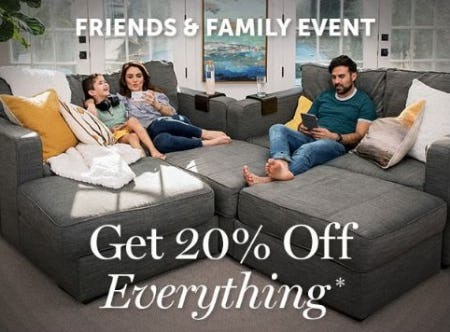 20% Off Everything from Lovesac Alternative Furniture