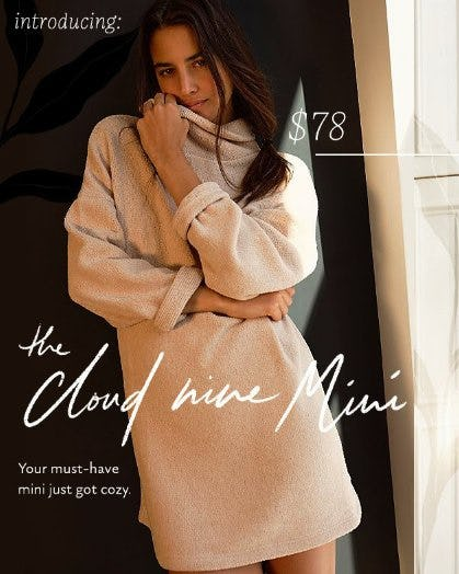 Introducing: The Cloud Nine Mini from Free People