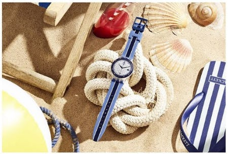 Special Swatch X Hackett from Swatch
