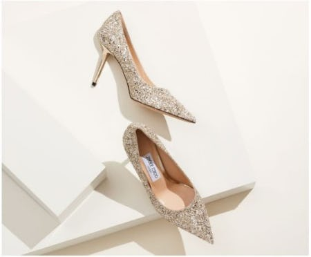 Icons that Sparkle and Shimmer from Jimmy Choo