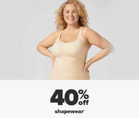 40% Off Shapewear from Belk