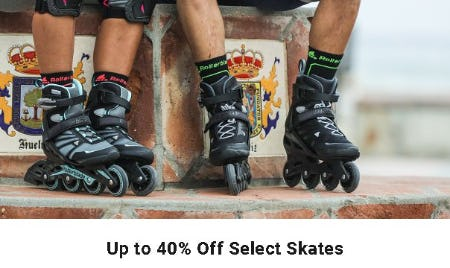 Up to 40% Off Select Skates