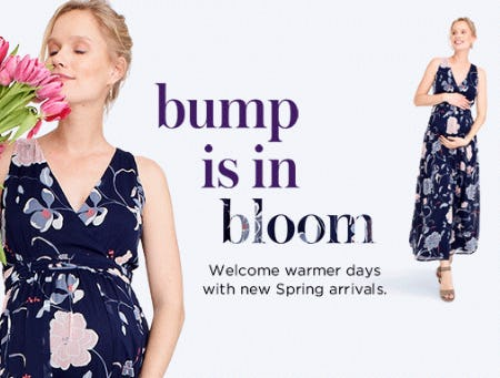 Bump is in Bloom from Motherhood Maternity