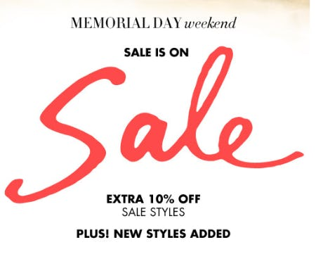 Extra 10% Off Sale Styles from Henri Bendel