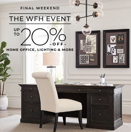 Up to 20% Off The WFH Event