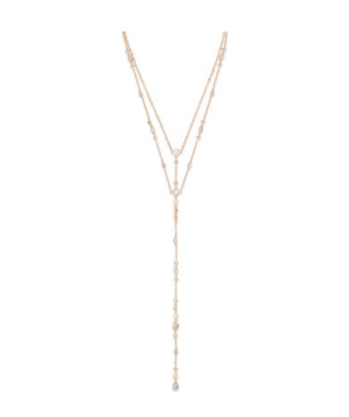 Watson Y Necklace In Rose Gold from Kendra Scott
