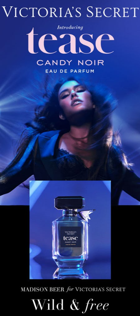 Introducing Tease Candy Noir from Victoria's Secret